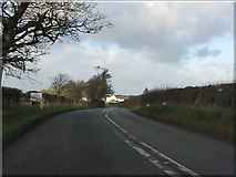 SJ7145 : A51 (London Road) north of Bridgemere by Peter Whatley