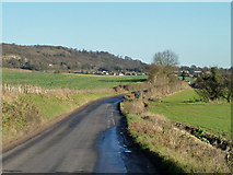 TQ5959 : Kemsing Road heads towards Wrotham by Robin Webster