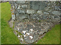 SN7465 : Medieval floor tiles at Strata Florida abbey church by Phil Champion