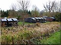 TL4457 : Punts laid up for the winter by Oliver Dixon