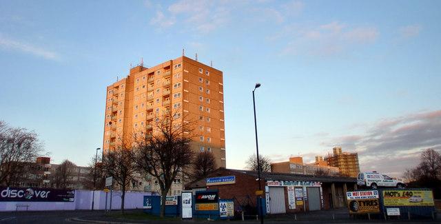 Tower Block, Station Road, London N11
