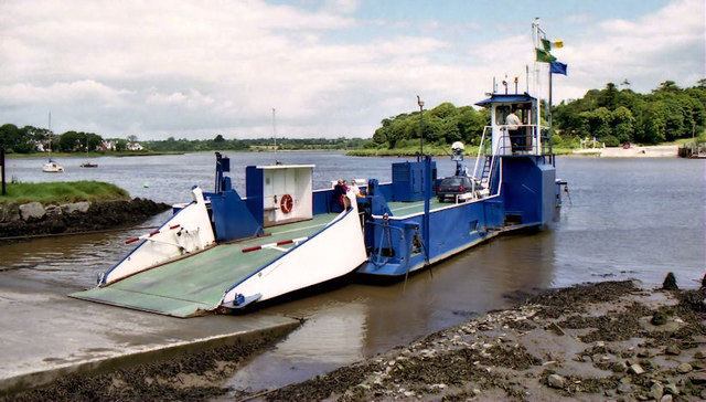 The Waterford Castle ferry (4)