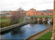 SK7954 : River Trent at Newark by Trevor Rickard