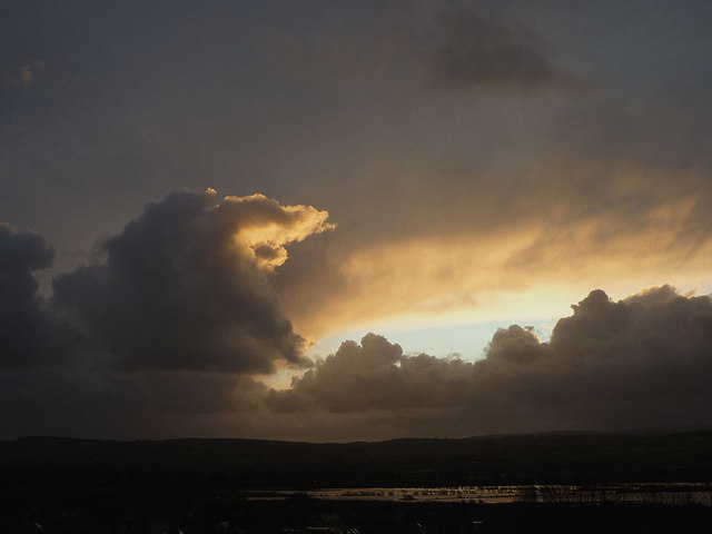 Cloudscape over the Keer