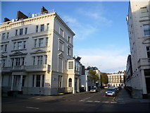 TQ2978 : St George's Drive and Clarendon Street, Pimlico by Marathon