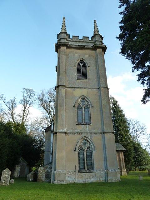All Saints, Deane: tower