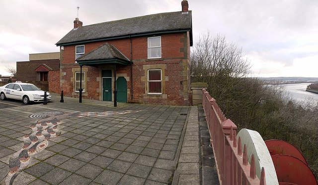 Former Toll House, Old Redheugh Bridge
