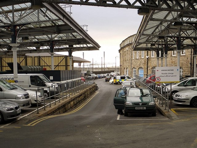 Former site of Newcastle Forth Railway Station
