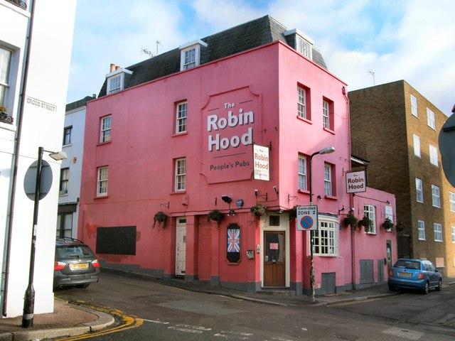 Robin Hood Pub by Paul Gillett