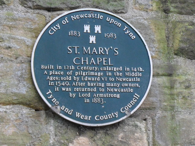 St Mary's Chapel Heritage Plaque