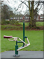 SO8995 : Public gym equipment in Muchall Park, Wolverhampton by Roger  Kidd