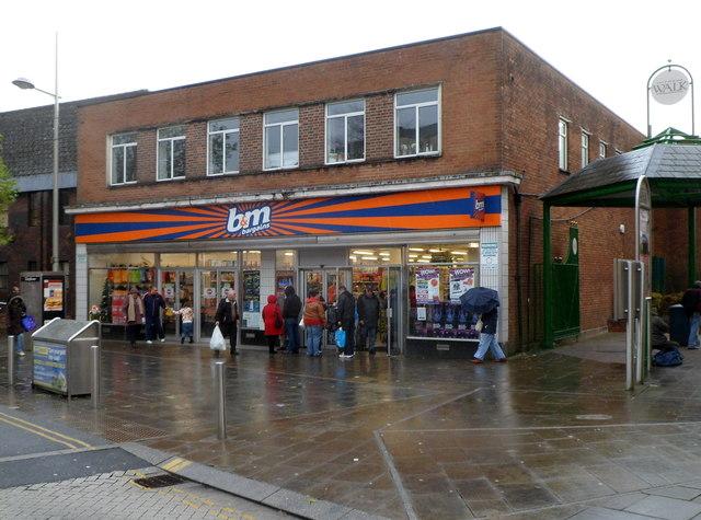 B&M Bargains in former Woolworths, Ebbw Vale