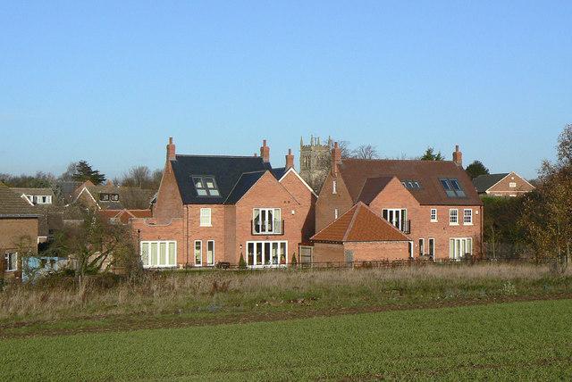 New houses, Mantle Croft