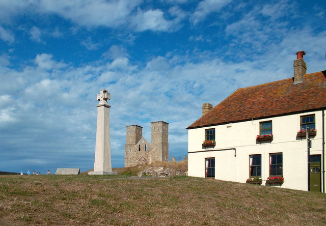 The Church, The Cross and The Pub, Reculver