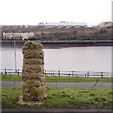 NZ2462 : 'Foliate Forms' by Gilbert Ward (2010), Gateshead Riverside Park by Andrew Curtis