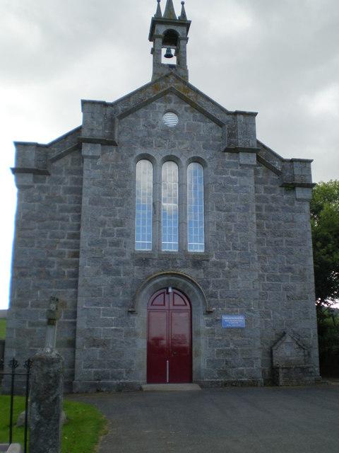 The church at Kirkton of Tough