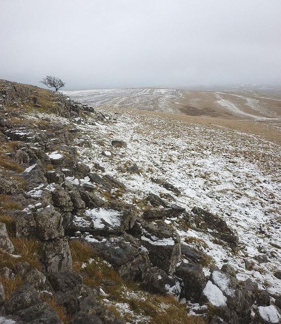 The edge of Grange Scar