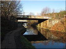 TQ2182 : Rail bridge 7a Paddington Arm by David Hawgood