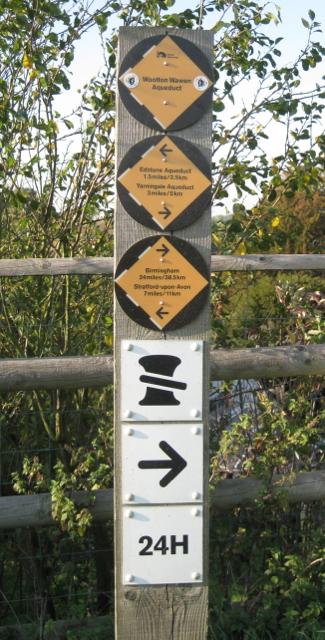 British Waterways signs