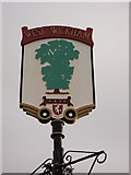 TQ3865 : West Wickham Village Sign (close-up) by David Anstiss