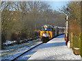 SD7914 : Diesel Train at Summerseat by David Dixon