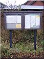 TM2245 : Kesgrave Village Notice Board by Adrian Cable