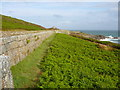 SV8910 : South western side of the Garrison Walls by Colin Park