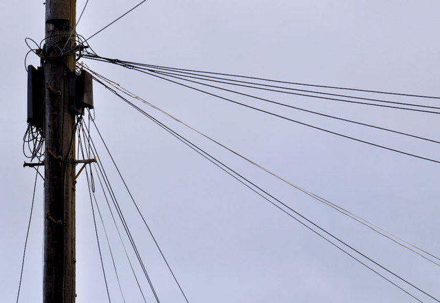 Telephone cables, Belfast