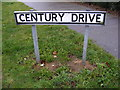 TM2345 : Century Drive Sign by Adrian Cable