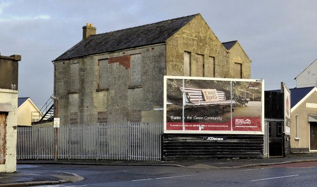 Derelict building, Belfast