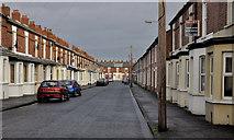 J3673 : Glenvarlock Street, Belfast (1) by Albert Bridge