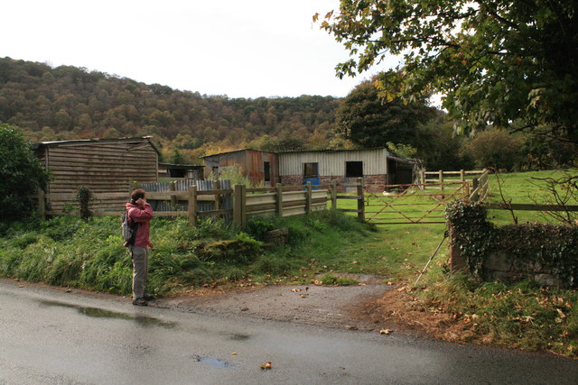 Corrugated metal buildings near Bulkeley