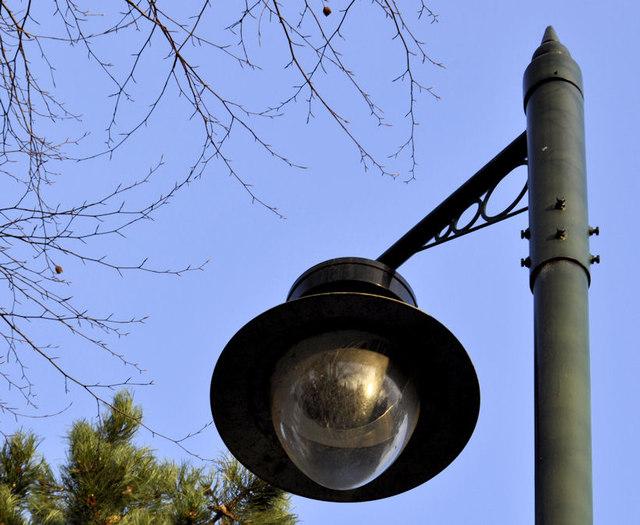 Street light, Belfast