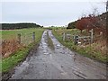 NZ0156 : Farm road to High Fotherley by Oliver Dixon