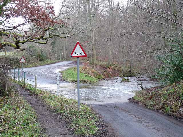 Ford over the Stocksfield Burn