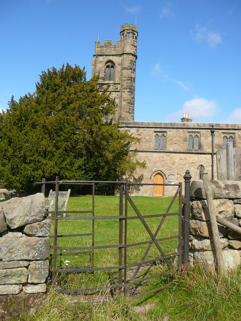 The church at Dethick
