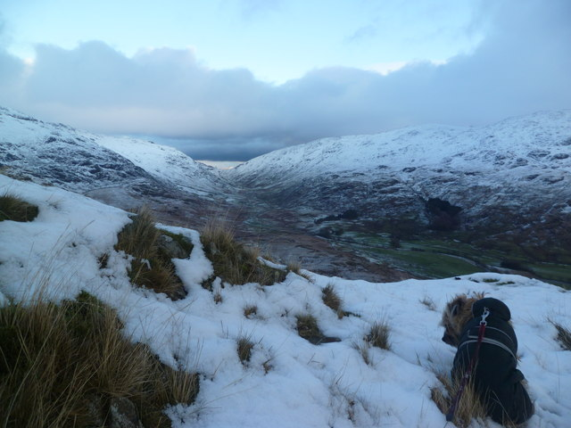 Looking towards Wrynose