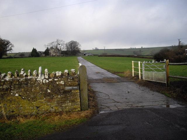 Entrance to Model Farm, Norton Hawkfield