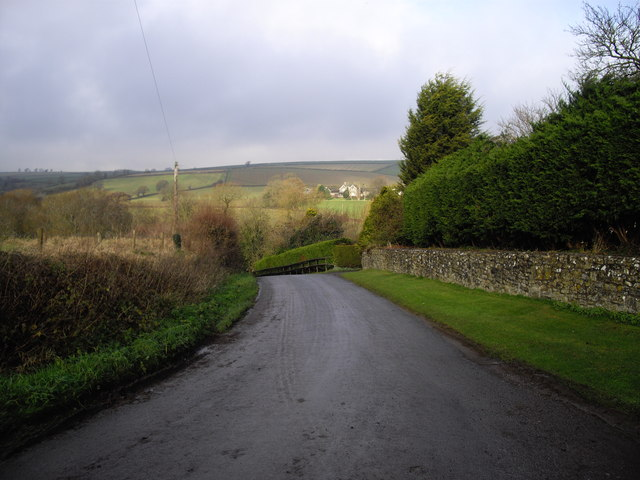 Downhill to Norton Hawkfield