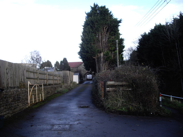 Driveway to converted chapel
