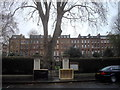 TQ2578 : Gates of Nevern Square, Earl's Court by PAUL FARMER