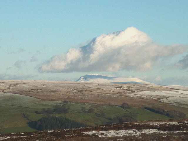 A shadow over Ingleborough