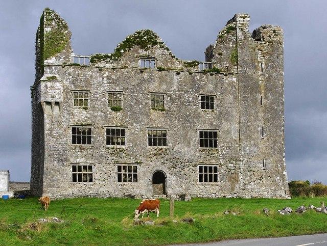Leamaneh Castle, near Kilfenora, Co. Clare