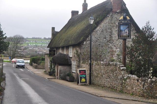 Axmouth : Church Street B3171