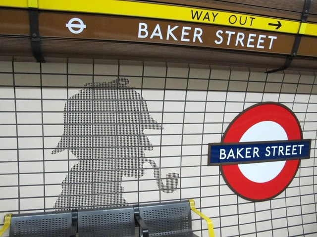 The ghostly presence of Sherlock Holmes, 221B Baker Street