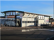 TQ2182 : Willesden Junction station entrance, Station Approach, NW10 by Mike Quinn