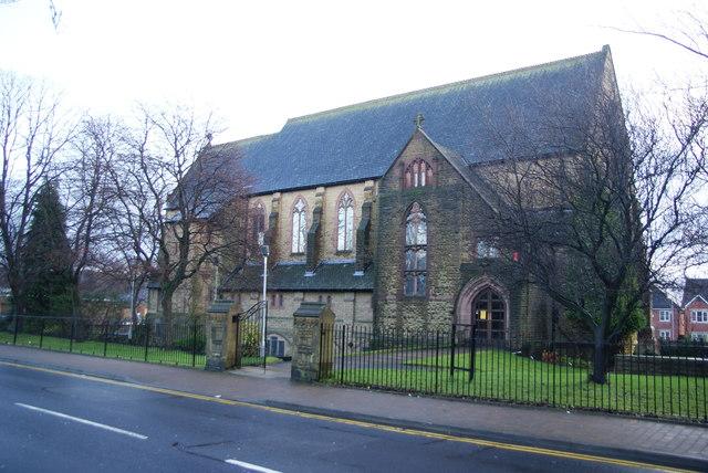 St Augustine's Church, Tonge Moor