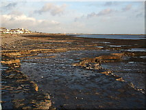 SC2667 : Castletown foreshore at low tide by Richard Hoare