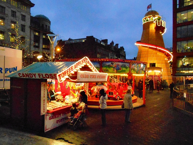 Christmas Funfair, Piccadilly Gardens