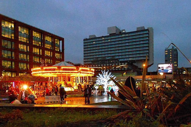 Christmas Fair at Piccadilly Gardens